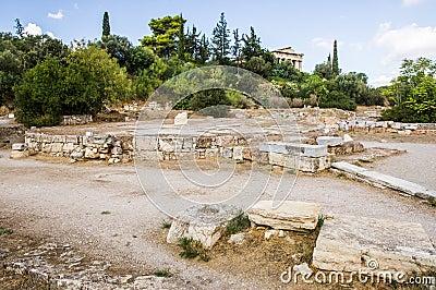 Temple of Hephaestus in Agora