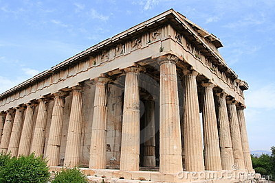Stock Images: Temple of Hephaestus and Athena Ergane