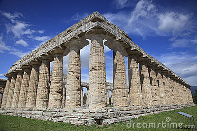 Temple of Hera in Paestum, Italy