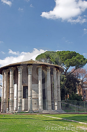 Temple Of Hercules Victor Royalty Free Stock Image - Image: 19690306
