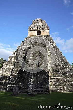 Temple II Mayan Ruins