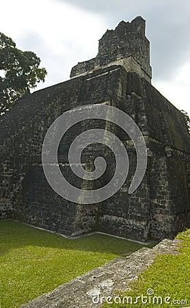 Free Temple II Tikal Royalty Free Stock Photography - 1597817