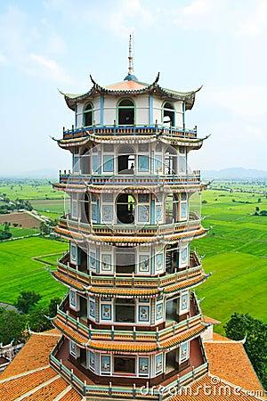 Temple in Kanchanaburi, Thailand