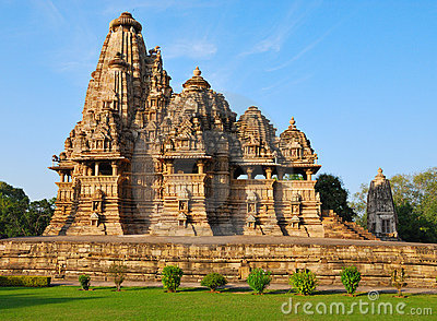 Temple in Khajuraho India