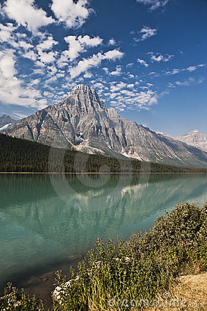 Temple Lake - Jasper National Park