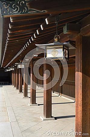Temple at Meiji Shrine