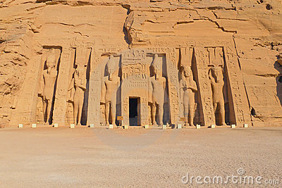 The Temple of Nefertari at Abu Simbel