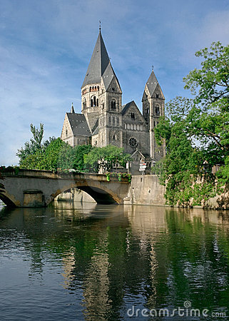 Temple Neuf at Metz, France