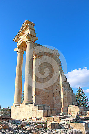 Free Temple Of Apollo Hylates At Kourion, Cyprus Stock Photo - 60728370