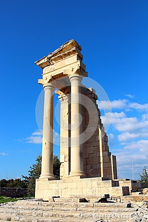 Free Temple Of Apollo Near Limassol, Cyprus Royalty Free Stock Images - 52479179