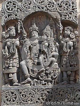 Free Temple Of Belur, Karnataka, India Stock Image - 25226061