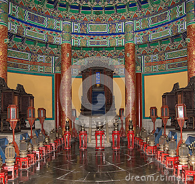 Free Temple Of Heaven (Altar Of Heaven), Beijing, China Stock Photos - 36755743