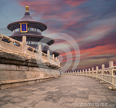 Free Temple Of Heaven (Altar Of Heaven), Beijing, China Stock Photo - 41545260