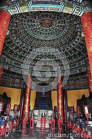 Free Temple Of Heaven Interior Stock Photos - 25180063