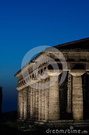 Free Temple Of Hera II, Paestum Royalty Free Stock Image - 50627256