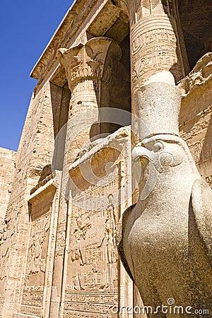 Free Temple Of Horus At Edfu Royalty Free Stock Images - 5005269