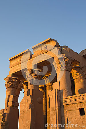 Free Temple Of Kom Ombo In Sunset Light Royalty Free Stock Photos - 24788838