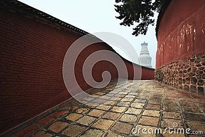 Temple passage