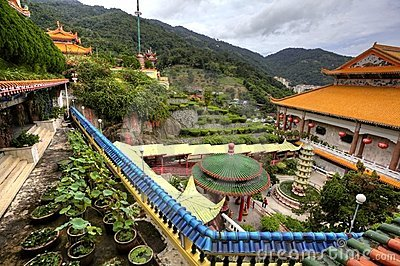 Temple in Penang Hilltop, Malaysia