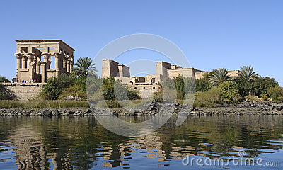 Temple of Philae in Egypt