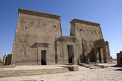 Temple of Philae ruins, Egypt, Travel Destination