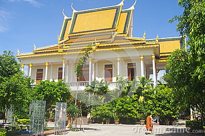 Temple in Phnom Penh