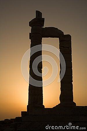 Temple of Poseidon, Cape Sounion, Greece