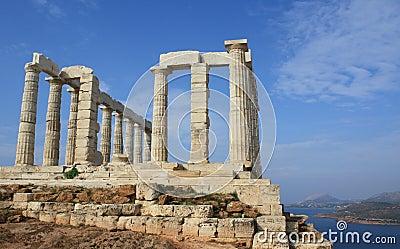 Temple of Poseidon near Athens, Greece