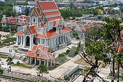 Temple in prachuap khiri khan