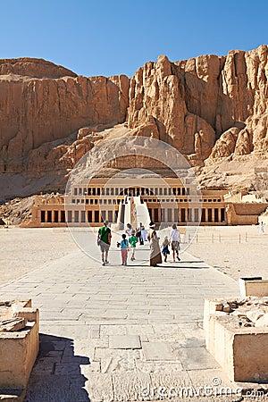 Temple of Queen Hatshepsut Editorial Image