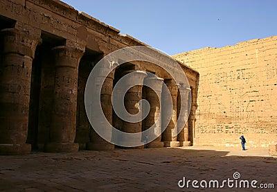 Temple of Ramses III. Luxor. West bank. Egypt.