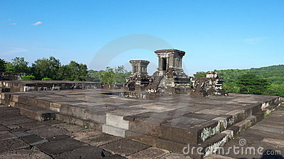 Temple on the ratu boko palace complex