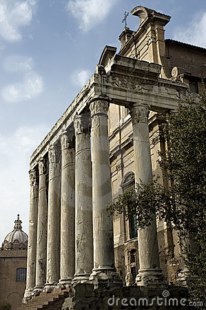 Temple on the Roman Forum