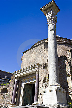 The Temple of Romulus