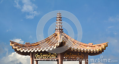 Temple roof architecture
