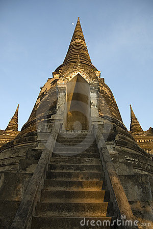 Free Temple Ruin, Ayutthaya (Thailand) Royalty Free Stock Photography - 598537