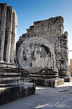 Temple Ruin Columns