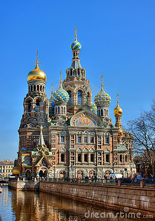 Temple, Russia, Saint Petersburg