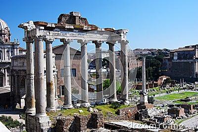 Temple of Saturn (Roman Forum in Rome)
