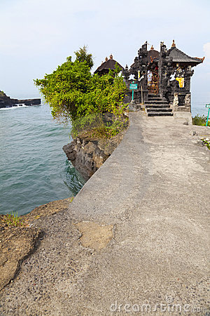 Temple by the Sea, Bali, Indonesia