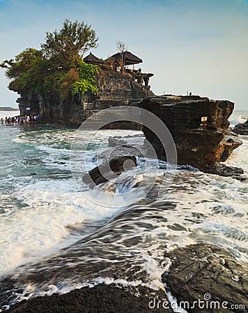 Temple in the sea, Bali, Indonesia