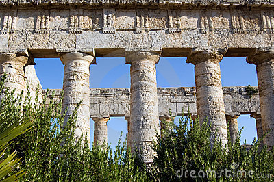 Temple of Segesta, wonderful Sicily