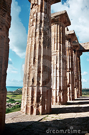 Temple at Selinunte