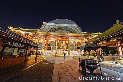 Temple Senso-ji in Asakusa, Tokyo, Japan