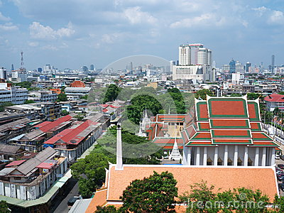 Temple sky view Editorial Stock Image