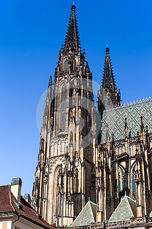 Temple of St. Vitus in Prague
