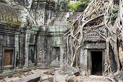 Temple Of Ta Phrom