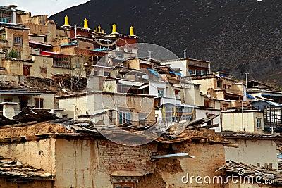 Temple in Tibet