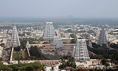 Temple Towers in India