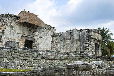 Temple in tulum, Cancun, mexico